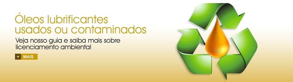 Óleos lubrificantes  usados ou contaminados
